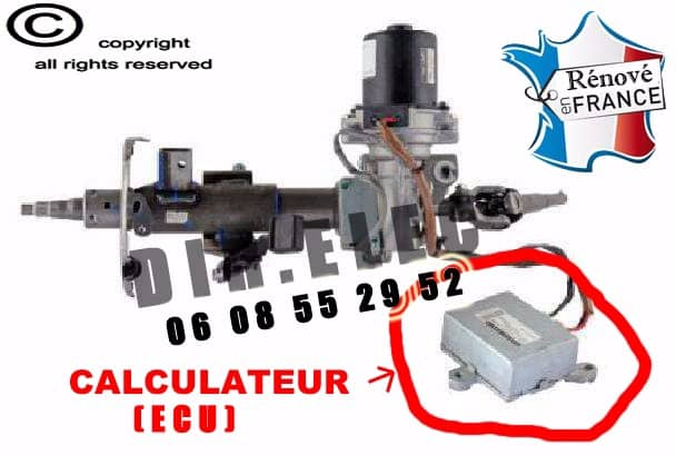 Calculateur ecu direction assistée toyota aygo